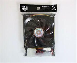 Cooler Master R4-SPS-20AK-GP 80MM Slim 3 pin Case Fan 1.44 Watts Black