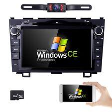"for HONDA CRV 2007-2011 GPS Navigation 8""Mirror Car Stereo 2DIN DVD Player Radio"