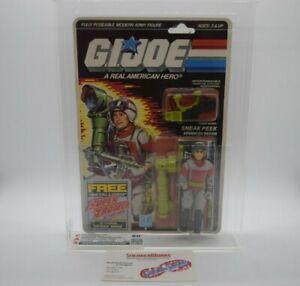 New Vintage Hasbro GI Joe Sneak Peek Action Figure 1987 Graded CAS 80 80/80/85