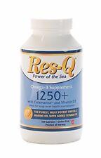 Res-Q 1250+ Omega-3 & Vitamin D3 200 Softgels