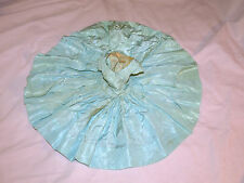 Vintage 1950s Madame Alexander Tagged CISSY aqua teal Theater gown dress