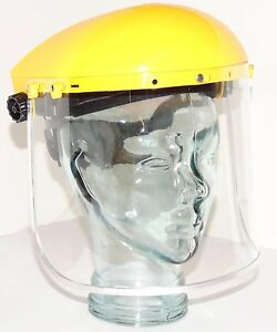 ESENO Clear Grinding Mask Screen Face Visor Shield Flip Up Brow Guard Adjustable