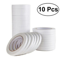 10Pcs Glue Tape Adhesive Tape Double-Sided for Crafts Wrapping Scrapbooking