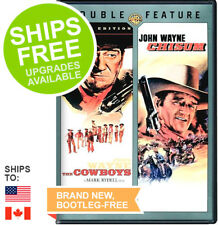 The Cowboys / Chisum Double Feature (DVD, 2013) NEW, John Wayne, Western