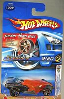 2005 Hot Wheels #9 First Editions 9/20 Faster Than Ever FIRESTORM Black w/FTE Sp