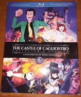 The Castle of Cagliostro Lupin Miyazaki Blu-ray NEW