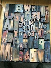 "Letterpress Wood Type  ""Assorted"""
