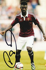 Prince Buaben, Heart of Midlothian, Hearts, signed 6x4 inch photo. Free COA.