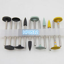 Dental HP0512 metal edge and titanium steel base finishing and polishing kits