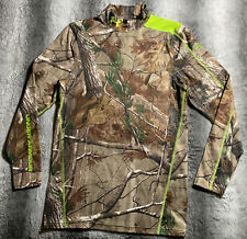 Men's Under Armour Hunting Camo Real Tree Long Sleeve Shirt Size Large NEW