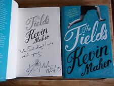 The Fields - Kevin Maher **Signed,Lined & Dated** + Promo Card - Waterstones 11