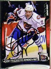 Andreas Engqvist Signed 10/11 Hamilton Bulldogs Card Auto Montreal Canadiens
