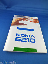 Original Nokia 6210 INSTRUCTION MANUAL NEW FOR CAR PHONE BMW Audi Mercedes VW