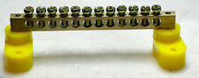 Power Distribution 12 point Brass Terminal strip
