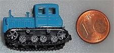 Raupenschlepper blau mit beweglichen Ketten TT 1:120 HM3  å *