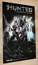 Hunted The Demon's Forge / F.E.A.R. 3 FEAR Poster PS3 Xbox 360 46x30 cm
