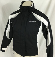 Spyder Axys Cycling Hardshell Jacket Black and White Women s Size 4 88d3fe060