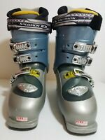 Salomon Ellipse 8.0 Womens Grey Downhill Ski Boots Size US 7 Mondo 24.5