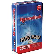 Jumbo Original Rummikub Kompakt in Metalldose, Brettspiel