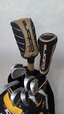 Cobra Complete Golf Clubs Full Set Driver Fairway Wood King Snake Irons Putter