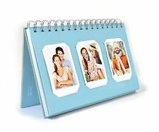 Photo Album Book style 60 Pocket for Fuijufilm Instax Mini (Light Blue)