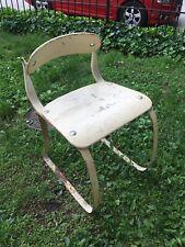Vintage Ironrite Health Chair by Herman Sperlich Industrial Machine Age MCM