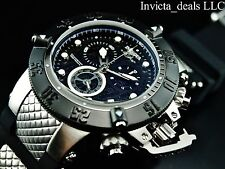 Invicta 50mm Subaqua Noma III Swiss Chronograph Black Dial Stainless Stee Watch
