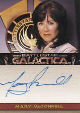 Battlestar Galactica Season 1 Mary McDonnell as President Laura Roslin Auto Card