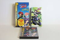 Harukaze Sentai V Force Boxed W/ VHS Sega Saturn SS Japan Import US Seller