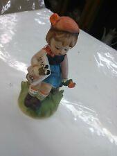 Arnart 5Th Ave Handpainted Little Girl Holding A Book Figurine