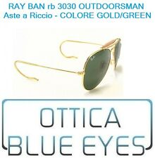 Occhiali da Sole Ray Ban RB 3030 Outdoorsman RICCIO Gold g15 Sunglasses Ray-Ban