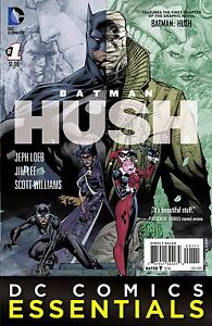 BATMAN: HUSH #1 DC COMICS ESSENTIALS FEBRUARY 2015 PROMOTIONAL COMIC