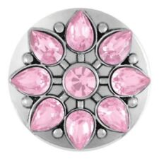"""Ginger Snapsâ""""¢ Jewelry Marbella - Pink Sn15-51 Buy 4, Get 5Th $6.95 Snap Free"""