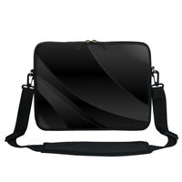 "13 13.3""Laptop Computer Sleeve Case Bag w Hidden Handle & Shoulder Strap 1602"