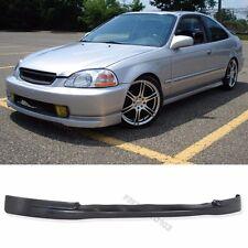 Fit 96-98 Honda Civic Front Bumper Lip PU Material