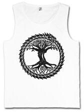 OUROBOROS YGGDRASIL TANK TOP Ancient Myths Snake Tree Loki of Life Thor Odin