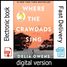 Where the Crawdads Sing By Delia Owens [digital book] INSTANT DELIVERY