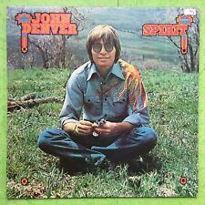 John Denver - Spirit - RCA APL1-1694 Ex+ Condition Vinyl LP - includes Insert