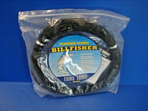 SEA STRIKER Billfisher Mono Leader Coil 400 Lb. 2.0mm 100 Yd. Black LC100B-400 ^