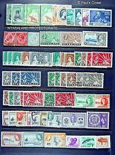 NYASALAND 1913 - 1964 ESTATE COLLECTION 61 STAMPS SEE PHOTOS & LISTING BELOW