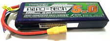 Turnigy Nano-Tech 5000mAh 3s 11.1v 45c 90c LiPo - Free Traxxas HPI Deans XT60