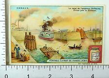 1880's Canals & Waterways Scenes Lovely Liebig Victorian 6 Trade Card Set K44