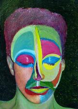 """Shahrokh Rezvani """"Solitude #4,"""" 2006, Oil Painting"""