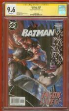 Batman 629 CGC SS 9.6 Dustin Nguyen Matt Wagner vs Jason Todd Cover 8/2004