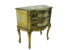 Chest of Drawers Florentine Wood Nightstand End Table Hall Cabinet 2 drawers