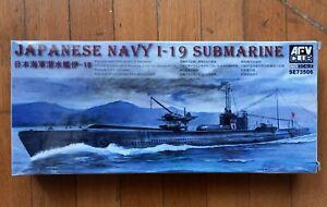 AFV JAPANESE NAVY I-19 SUBMARINE 1/350 SCALE
