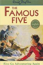 FAMOUS FIVE - FIVE GO ADVENTURING AGAIN -ENID BLYTON AS NEW PB FAST FREE POST