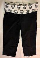 VICTORIA'S SECRET PINK Women's Yoga Black Crop Pants Size XS