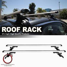 Roof Top Crossbar Utility Rack Carry Cross Bars +Lock Fit Sedan/Hatchback/Wagon