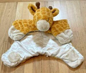 Baby Gund TUCKER Giraffe Comfy Cozy Blanket Plush Satin #320181 Lovey